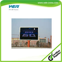 P16 china video led dot matrix outdoor display