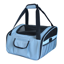 Pet Carrier Airline Approved Dog Cat Car Booster Seat Portable Soft Overnight Travel Bag