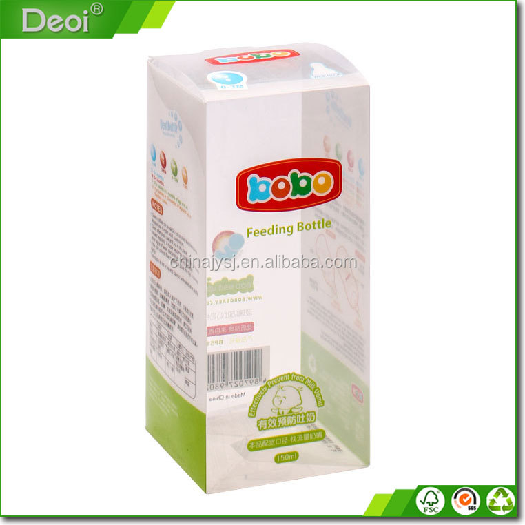Customized Plastic Clear Pet Printed Pvc Box Packaging