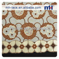 high quality African Cotton Embroidery Lace Fabric