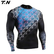 Latest shirt designs for men,compression shirt,rash guards mma