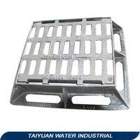 Heavy duty steel catwalk trench grating