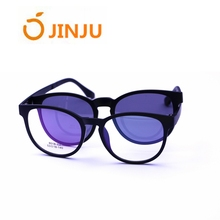 Clip on vintage sunglasses,new arrivals fashion UV 400 polarized magnetic sunglasses for men.