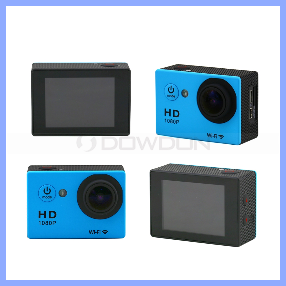 Wireless Wifi DV Full HD 1080P 30fps Sports Action Camera 30M Waterproof W9 Hands Camcorder