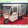 Driver Cabin Cargo Tricycle with Electric Refrigerator Cargo Box
