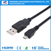 High quality PVC jacket date and charge function USB2.0 cable
