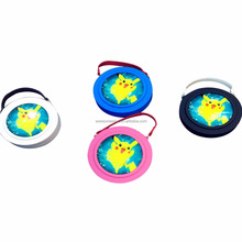 Pokeball Charger Pikachu Power bank Mirror, Charging with hanging rope