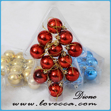 colored drawing ball Xmas decoration//plastic christmas ornaments