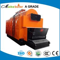 Best Price! China supplier DZL series industrial chain grate wood pellet biomass steam boiler
