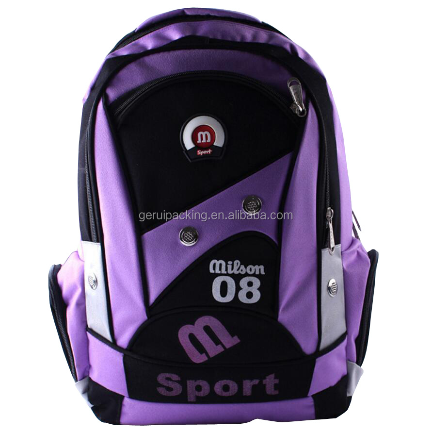 2016 New style Durable Outdoor 600D Polyester Sports Backpack With Custom Logo