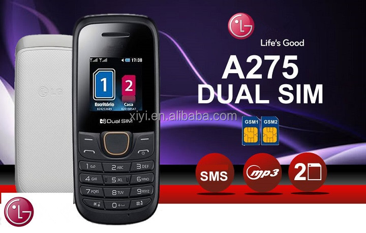 2016 Mobile Phone A275 for LG hot in South America with dual sim