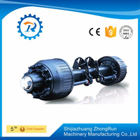 11T American type spoke axle manufacturer in China with low price