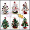 China supplier fashion silverjewelry decorative pill boxes personality christmas tree decoretion for christmas QF496