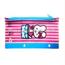 pvc pencil bag with school kit(European standard )