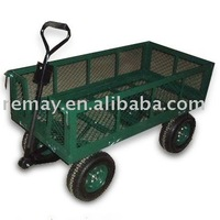 Garden wagon tool cart