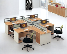 Wooden Modular Office Workstation Partitions