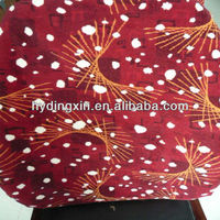 Silk Brocade Jacquard Fabric Red for Bus Seat Cover