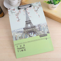China Supplier a4 Cardboard File Folder One Side storage Clipboard for office