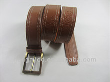 wholesale personalized western pin buckle leather belts