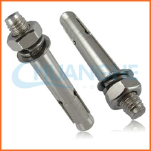 China supplier high quality m8 chemical anchor bolt steel japan