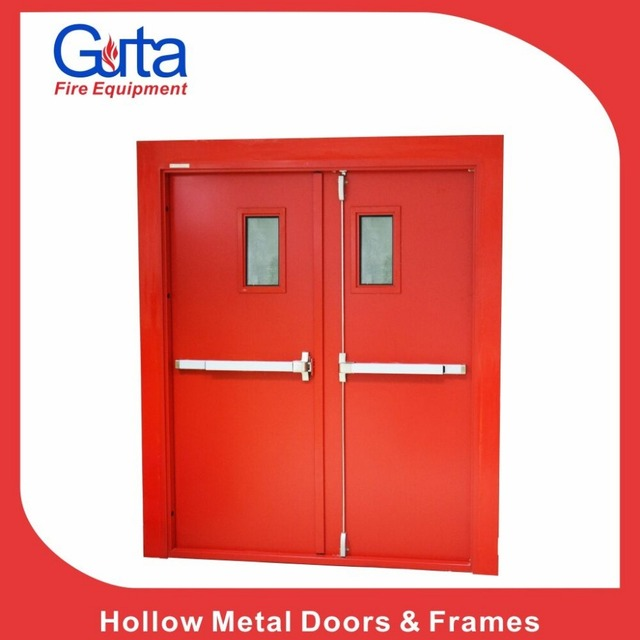 Fire Rated Double Layer Steel Cheap Price Industrial Door