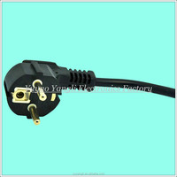 Hign quality factary price 3 pin KOREA electrical plug with connector