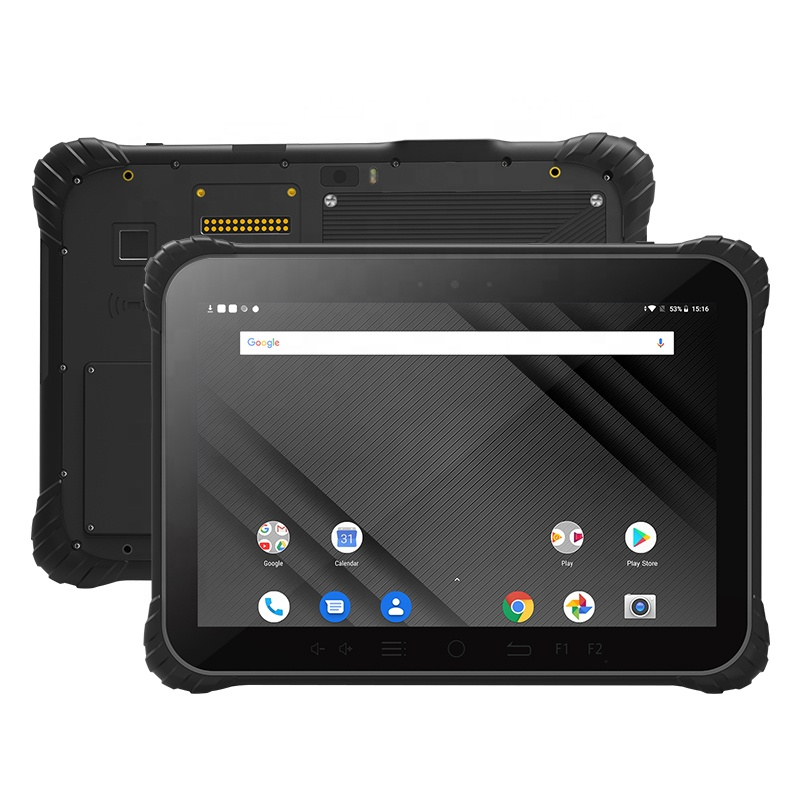 UNIWA <strong>P1000</strong> Octa core NFC 4GB RAM 64GB ROM Android 8.1 Removable Big battery IP67 Waterproof 10.1 Inch Rugged industrial tablet