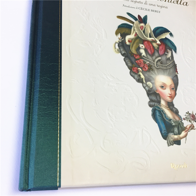High quality book printing / hardcover book printing