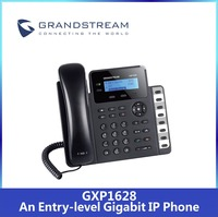 Cheap VoIP SIP Phone Grandstream GXP1628 with PoE Function