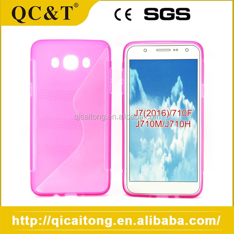 Cheap Sale Custom Molded Silicone Phone Case For SAMSUNG J7 2016 710F J710M J710H