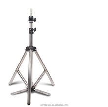 Factory Sell Adjustable Cosmetology Mannequin Training Shelf Stainless Steel Tripod Stand