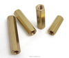 Brass Thru Threaded Standoff Hex Female