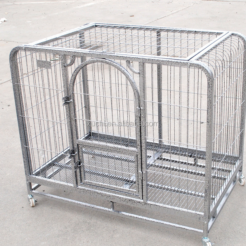 110x72x95cm Square tube dog cages for teddy dog dog kennel