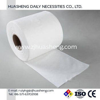 Cotton Disposable Roll Towel Dry HS5354 Nonwoven Towel in Roll