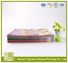 coloring hardcover cardboard book printing for self publishers