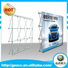 High quality outdoor advertising promotion pop up wall displays banners