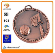 Special sales metal backboard shoot basketball Champions League sport medal