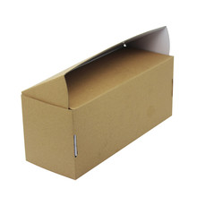 Custom Printing Cardboard Expo Box Brown Corrugated Board Box for Mailing