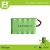 6.0V NI-MH AA 2200mah rechargeable battery pack for industrial electronic