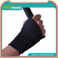 rubber wrist support with elastic belt ,H0T074 neoprene wrist guard