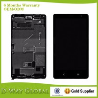 High quality replacement lcd screen for nokia lumia x2 LCD with frame