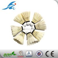 Good Quality Duck Feather Badminton Shuttlecock For Badminton Enthusiasts from china