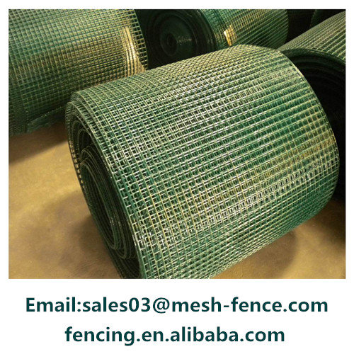 China PVC coated 358 high security fence/PVC coated welded wire mesh panel/rolls