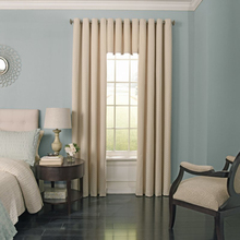 Curtain tails swag skyhomtex.com side