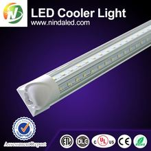 UL CUL DLC certified 8ft cooler door t8 T8 integrated tube led lights
