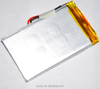 factory customized 3.7V 5v 7000mah lipo battery applied for power bank