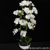 Best Selling Handmade Different Size Artificial Potted Flower For Home&Wedding Decoration