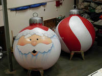 Customized High Quality Floating Inflatable Christmas Ornament Balloons