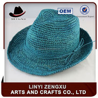 Professional factory big brim derby beach fedora hats