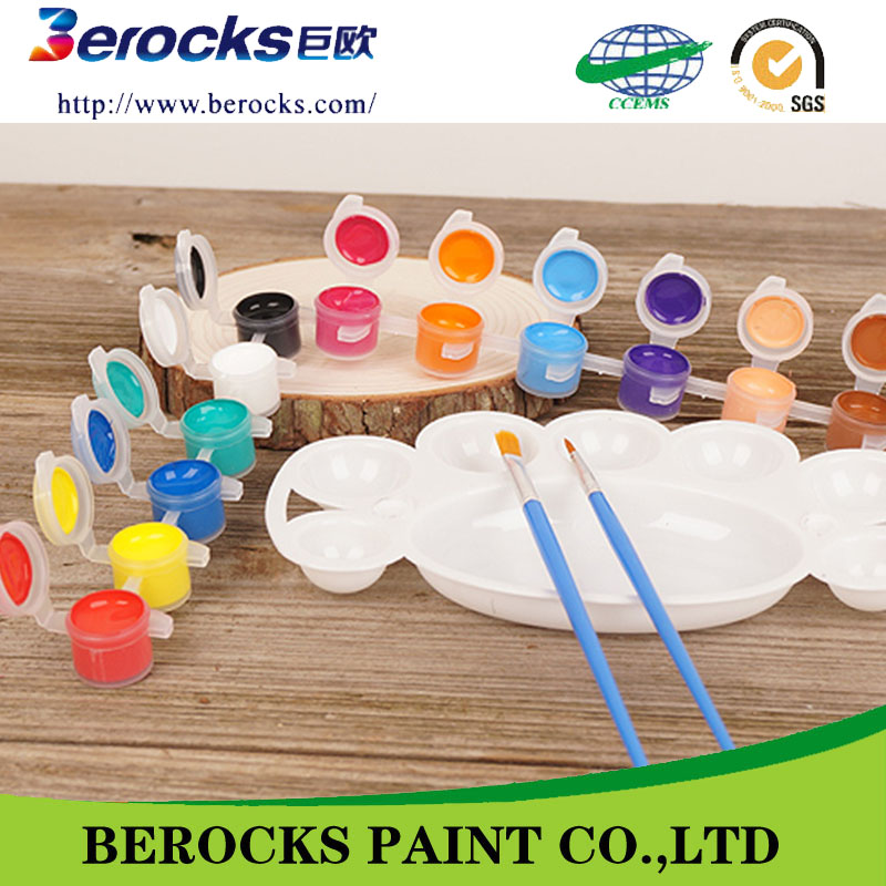 Artists level Best selling Non-toxic factory vivid colors fabric paint set kit